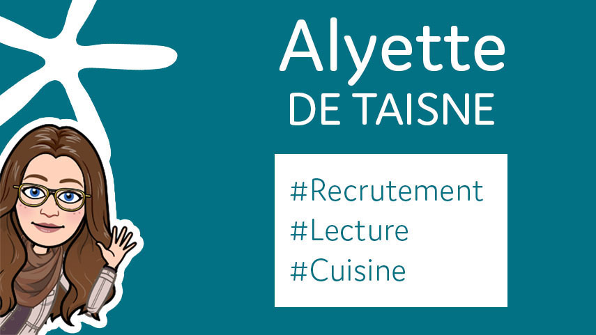 Welcome Alyette !